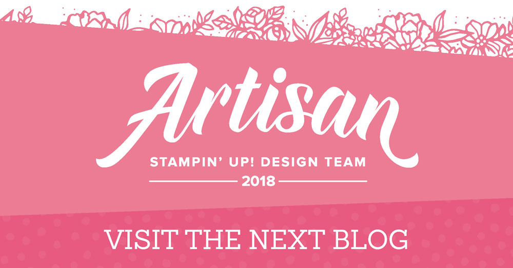 Join the Artisan 2018 Team for the January Blog Hop