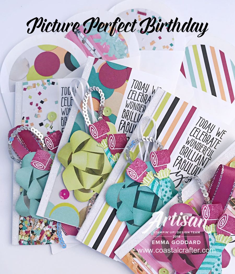 Picture Perfect note cards are so cute for a Birthday cards or great for a thank you note.