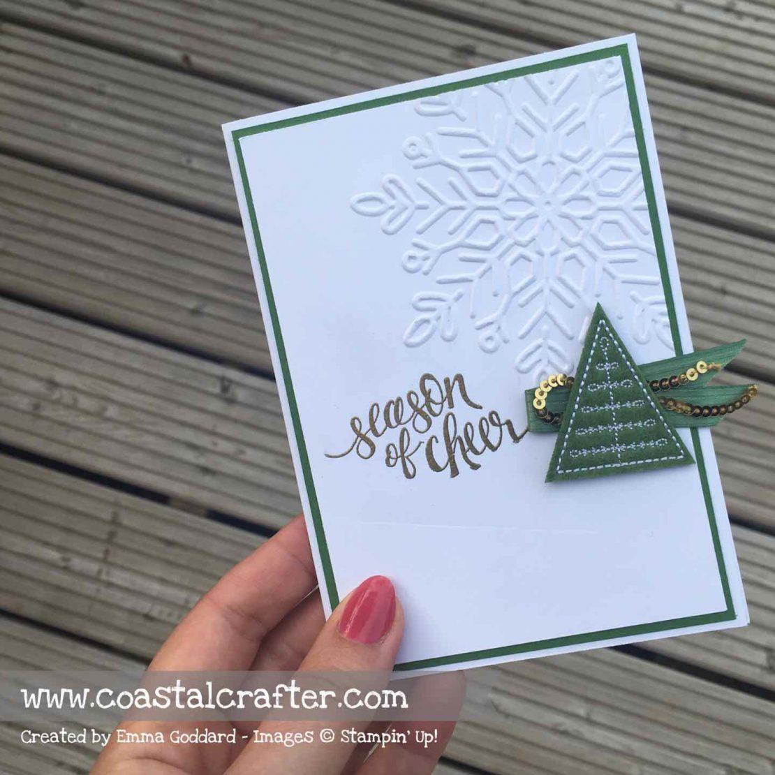 Stitched Felt Embellishments Card 3 Of 3 Coastal Crafter