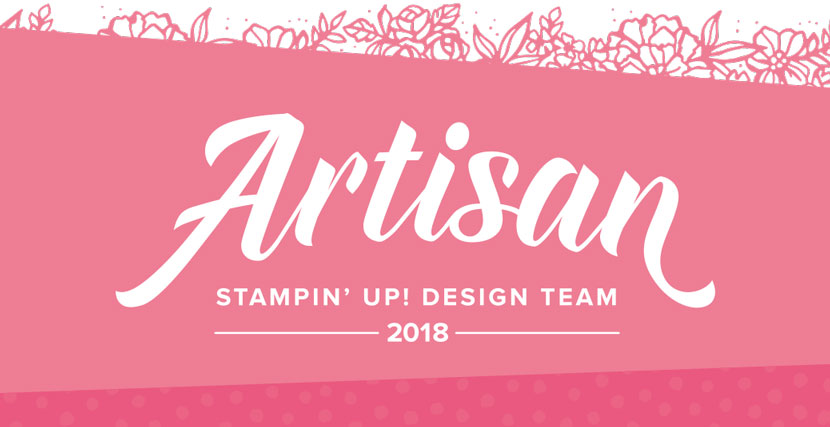 Artisan Stampin Up! 2018!