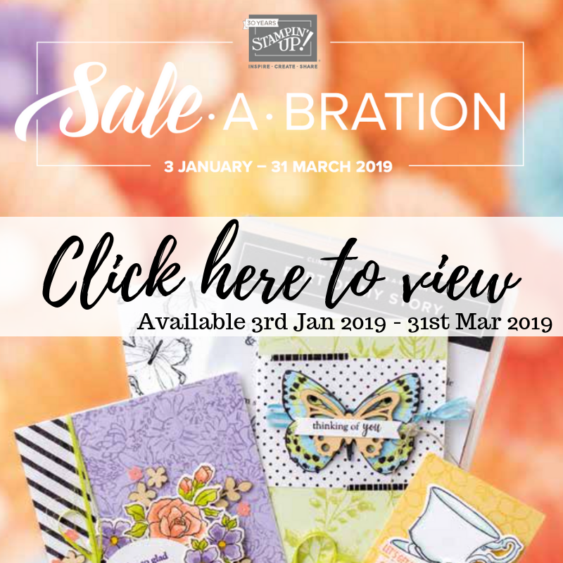 Stampin' Up! Sale A Bration Brochure