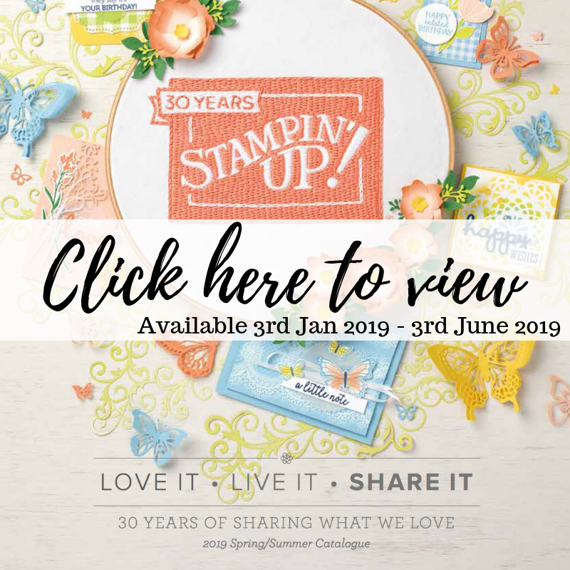 Stampin' Up! Srping Summer Catalogue