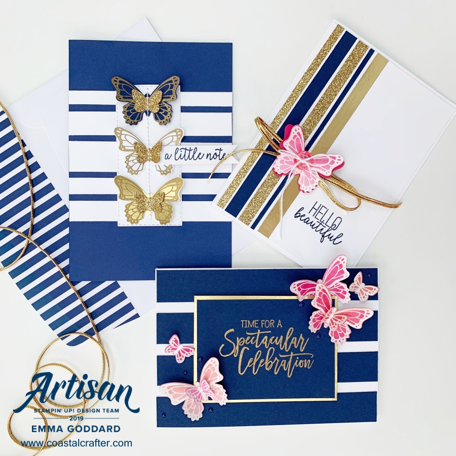 Butterfly Gala Bundle - Artisan Designer 2019 Stampin' Up! Demonstrator in the UK www.coastalcrafter.com #coastalcrafter #stampinup #papercraft