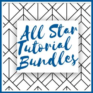 All Star Tutorial Bundles