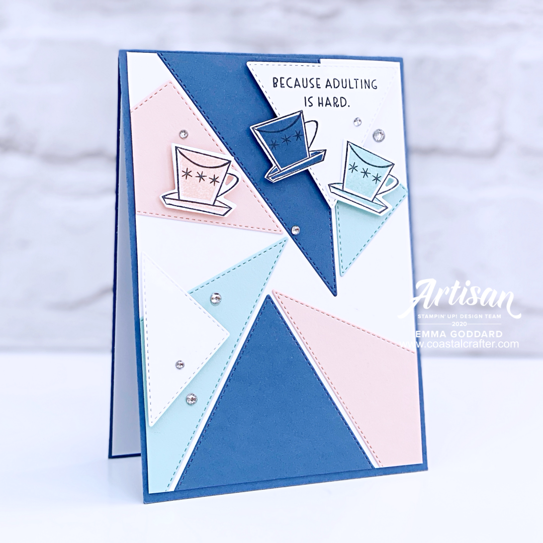 Created by Emma Goddard, Coastal Crafter. Using Nothing's Better Than Stamp Set, for the Global Design Project #GDP249 #Stampinup #ADT #Artisandesignteam2020