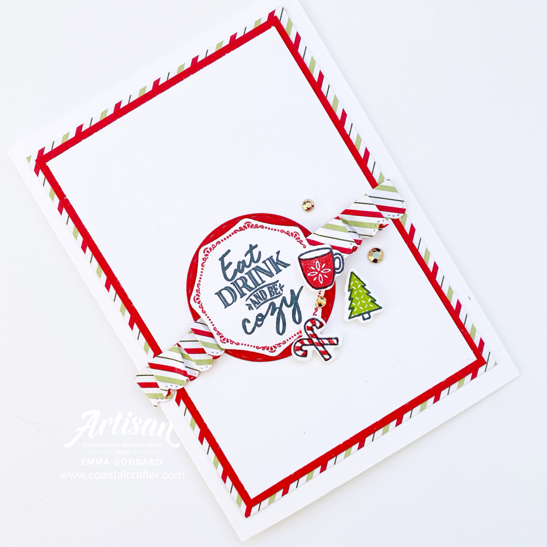 The Warm Hugs Stamp Set has some super cute mini images for adding to your cards and projects