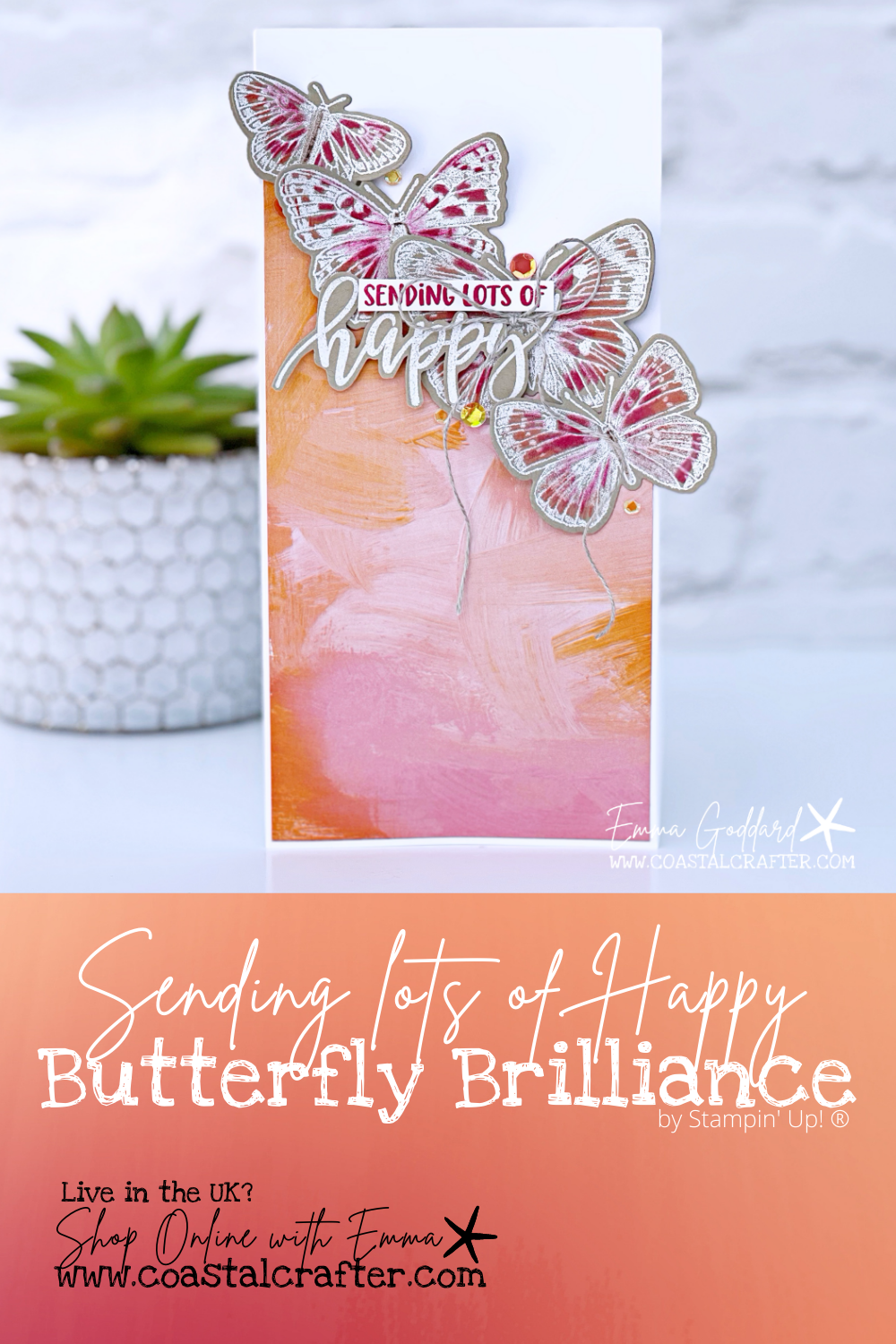 Happy Butterfly Cards