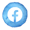Facebook icon follow Emma Goddard Coastal Crafter