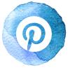 Pinterest icon follow Emma Goddard Coastal Crafter
