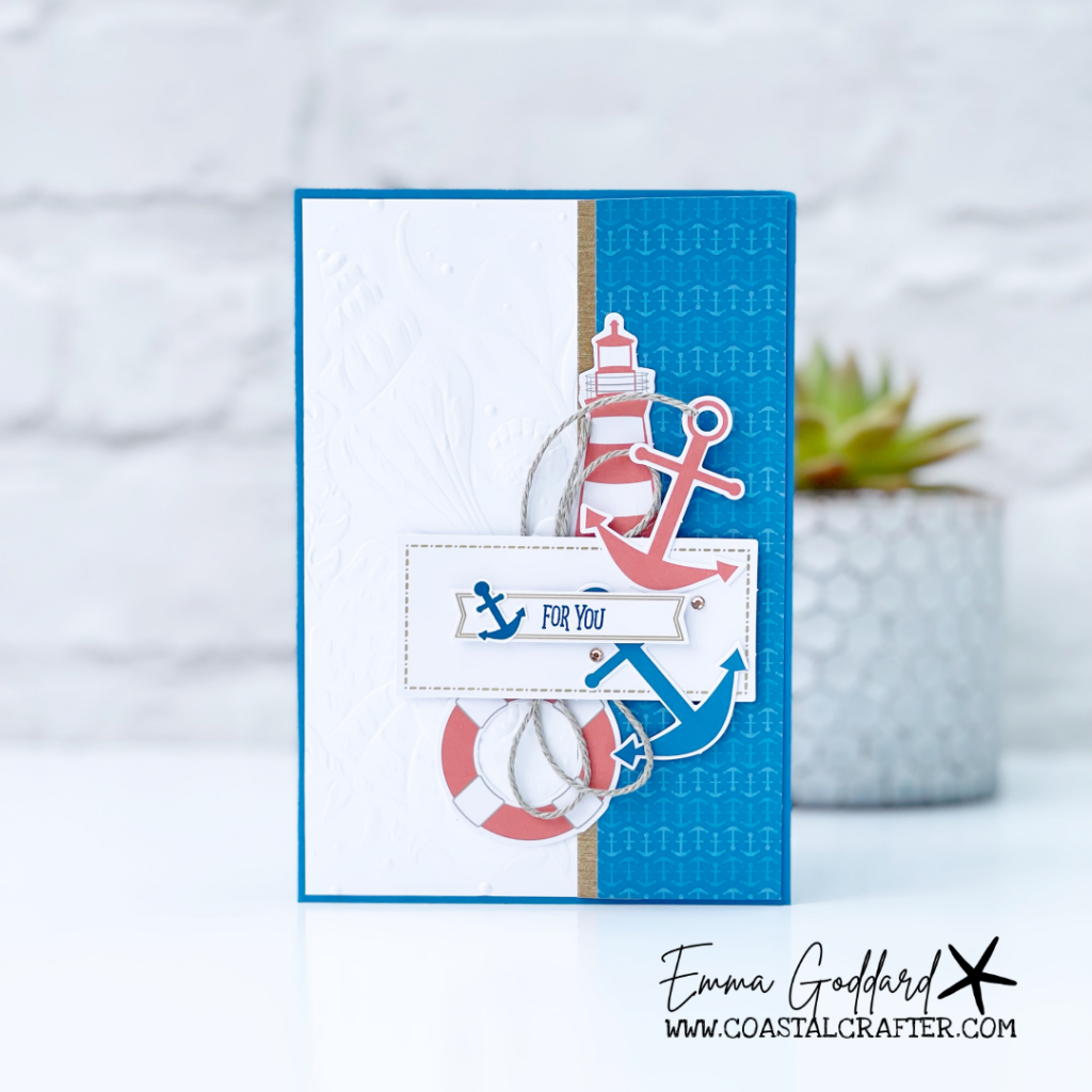 Pacific Point Card using the You are my Anchor Card Kit from Stampin' Up!