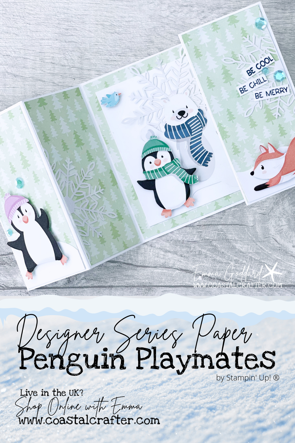 Penguin Playmates - Be Inspired