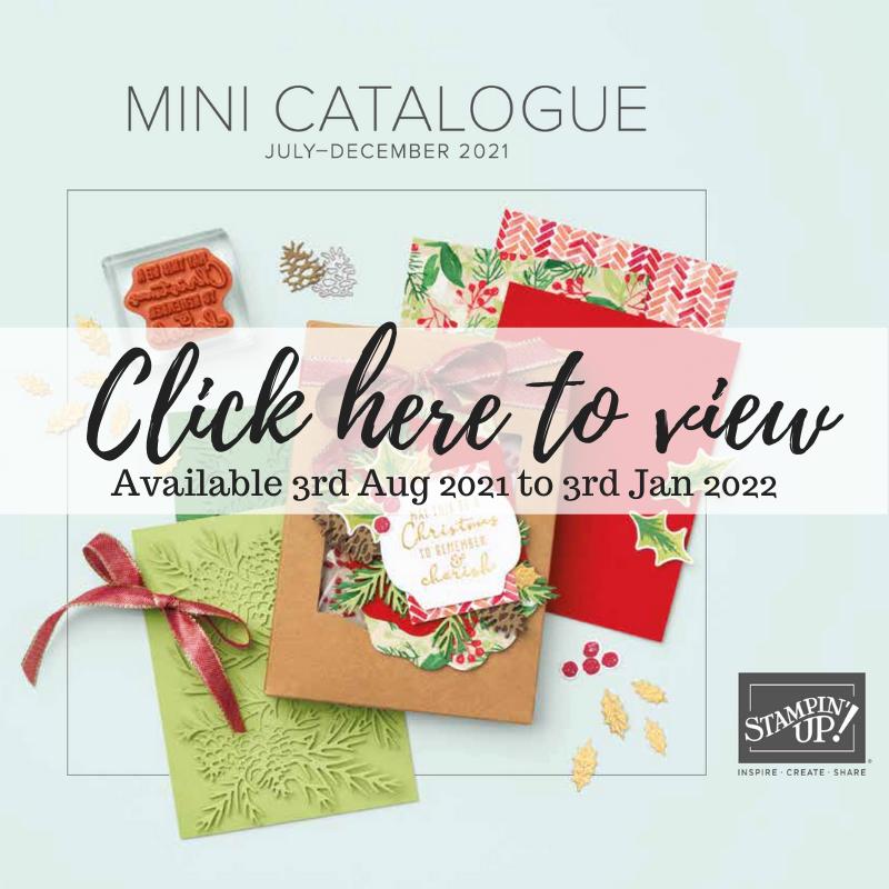 July-Dec Mini Catalogue UK Demonstrator